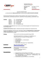 A U S S C H R E I B U N G zur österreichischen Diplomtrainer/innen ...