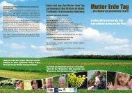 Mutter Erde Tag - Energiestammtisch Thannhausen