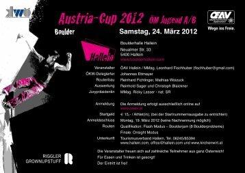 Austria-Cup 2012 ÖM Jugend A/B