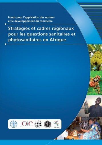 Stratégies et cadres régionaux SPS en Afrique - Standards and ...
