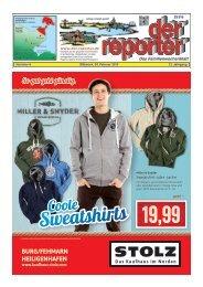der reporter - Das Familienwochenblatt für Fehmarn 2015 KW 06