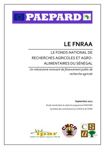LE FNRAA - CSA
