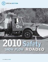 2) 2010 Snow Plow Roadeo - Town of Vernon