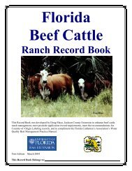 Complete Record Book - Jackson County Florida Extension Service