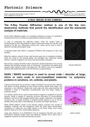 X-ray Image Star - Photonic Science