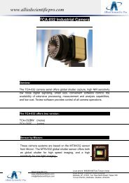 informations - Allied Scientific Pro