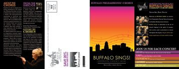 Download our 2010-2011 Brochure Here - The Buffalo Philharmonic ...