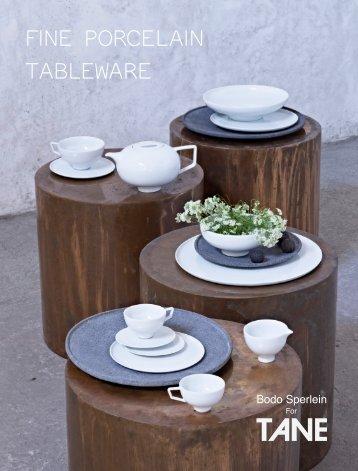 Bodo Sperlein for TANE Porcelain