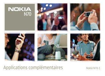 Applications complémentaires - Futur telecom