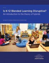 Is-K-12-blended-learning-disruptive