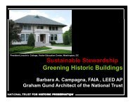 Sustainable Stewardship: Greening Historic Buildings - Preservation ...