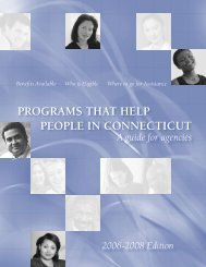 programs that help people in connecticut - Town of Vernon