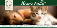 Unsere Wellis® speziell für Hunde und Katzen - Boswelia
