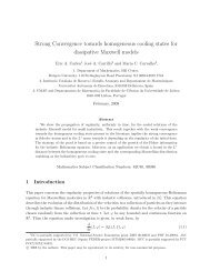 Strong Convergence towards homogeneous cooling states for ...