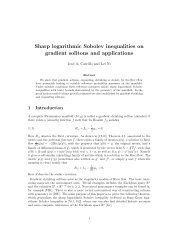 Sharp logarithmic Sobolev inequalities on gradient solitons and ...