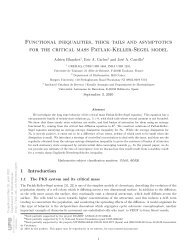 Functional inequalities, thick tails and asymptotics for the critical ...