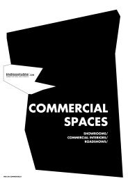 SHOWROOMS/ COMMERCIAL INTERIORS ... - Indissoluble