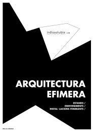 ARQUITECTURA EFÍMERA: descarregar catàleg PDF - Indissoluble