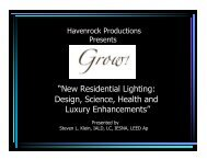 """""""New Residential Lighting: Design, Science, Health and Luxury ..."""