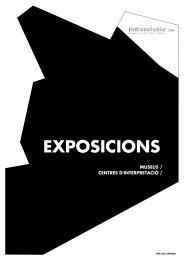 EXPOSICIONS: descarregar el catàleg PDF - Indissoluble