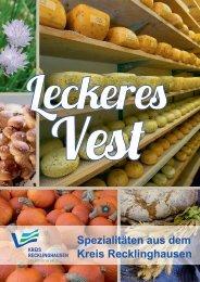 Broschüre Leckeres Vest - Regiofreizeit.de