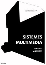 SISTEMES MULTIMÈDIA: descarregar el catàleg PDF - Indissoluble