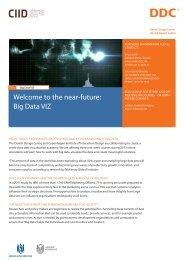 Welcome to the near-future: Big Data VIZ - Danish Design Association