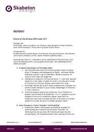 Referat af DDA Direktør ERFA møde 23/9 - Danish Design Association