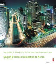 Danish Business Delegation to Korea - Danish Design Association