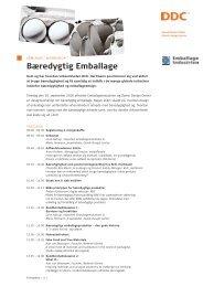 Bæredygtig Emballage - Danish Design Association