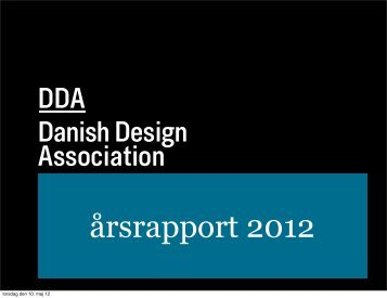 Årsrapport - Danish Design Association