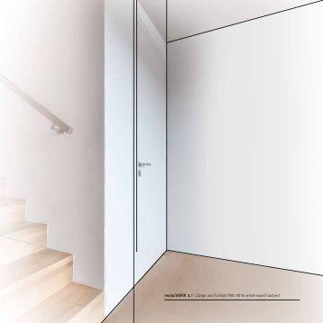 modulwerk 4 0 zarge und t rblatt ral 9016 verkehrswei lackiert. Black Bedroom Furniture Sets. Home Design Ideas