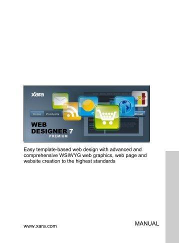 What is new in Xara Web Designer 7 Premium?
