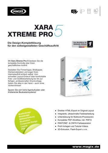 Die Design-Komplettlösung für den selbstgestalteten ... - Xara