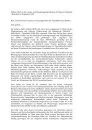 Offener Brief an die Landes - Initiative Haller Willem