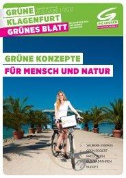 für mensch und natur grüne konzepte - Die Grünen Klagenfurt