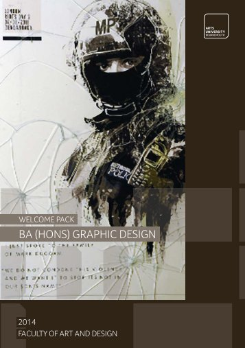 BA (Hons) Graphic Design Welcome Pack - Arts University ...