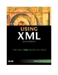 Special Edition Using XML, Second Edition