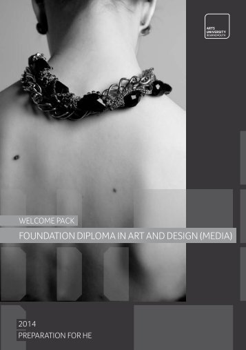 Foundation Diploma in Art and Design - Media Welcome Pack.pdf