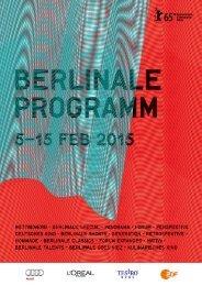 Berlinale Programm 2015
