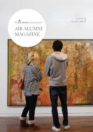 Alumni Magazine Issue 1 Dec 2008.pdf - Arts University Bournemouth