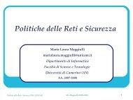 Politiche delle reti e sicurezza 2008-1 Prima lezione pdf