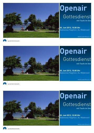 Tag Openair Openair Openair - Auerehuus