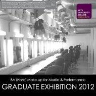 Make-Up Graduation Exhibition 2012.pdf - Arts University ...