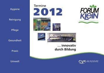 Seminar Anmeldung - FORUM-KLEIN ... innovativ durch Bildung