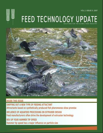 feed technology upda feed technology updatete - AquaFeed.com