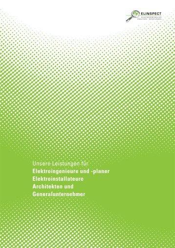 Unsere Leistungen für Elektroingenieure und -planer ...