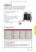 ROBUST Sähköiset ilmanlämmittimet vaativiin olosuhteisiin - Enervent - Page 5