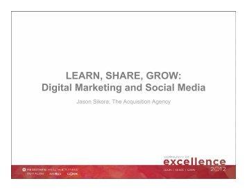 Presentation Notes: Best Marketing Practices - Merrithew.com