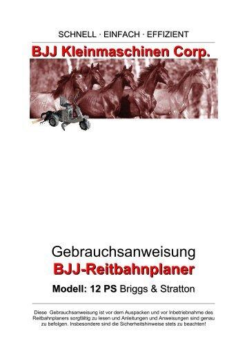 BJJ Kleinmaschinen GmbH - BJJ Kleinmaschinen Corp.
